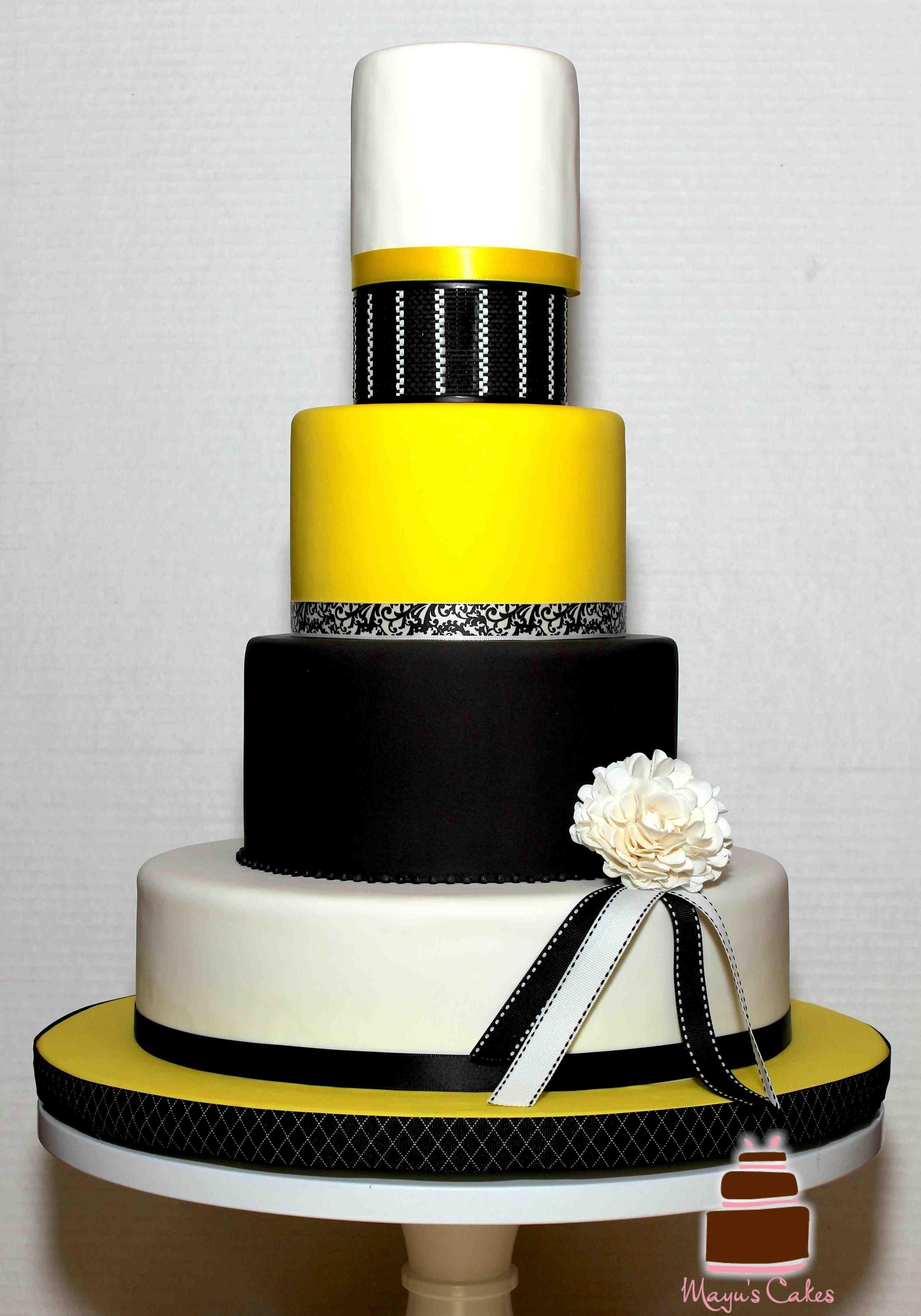 Modern Wedding Cakes Miami | Fondant Wedding Cakes | Pinterest ...
