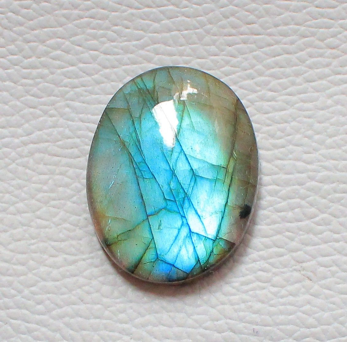 Labradorite Cabochon Loose Gemstone 48.70 Cts Oval Shape Best For Silver AAA Quality Multi Fire Labradorite Wire Wrap Jewellery