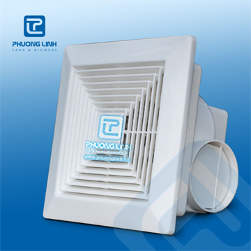 Quạt thông gió gắn trần ECPL: là dòng quạt thông gió gắn trần trong các tòa nhà. Quạt có độ bền cao, tiết kiệm điện năng.