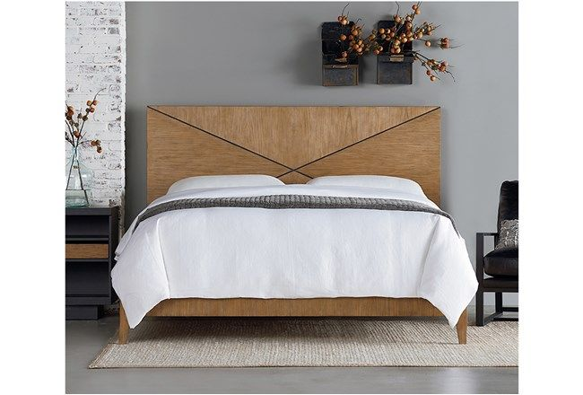 Magnolia Home Summit Queen Panel Bed By Joanna Gaines Decorating