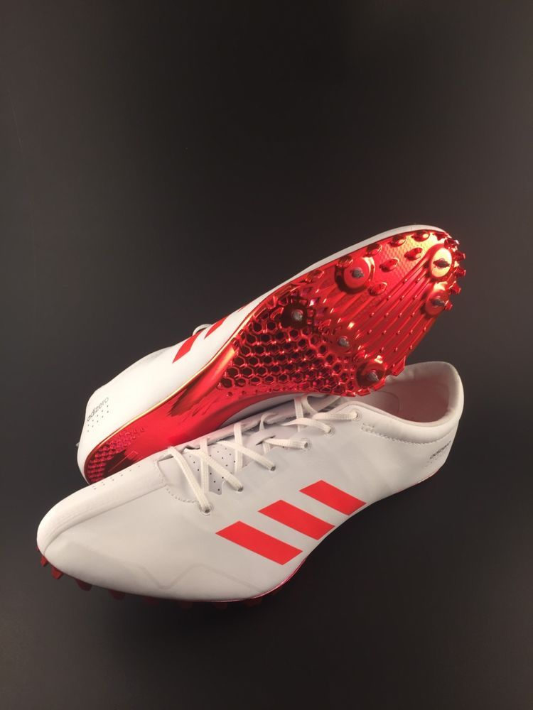new product 0625f 0e374 Adidas Adizero Prime SP Mens Sprint Track Shoe Size 12 With Spikes (BB4117)