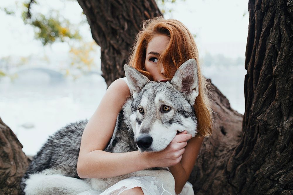 Girl wolf / 500px