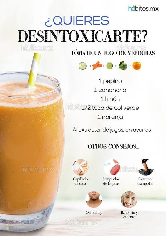 dieta de los jugos para desintoxicar