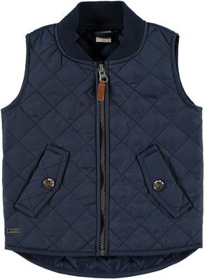 MINI NITDIONEL VEST, Dress Blues