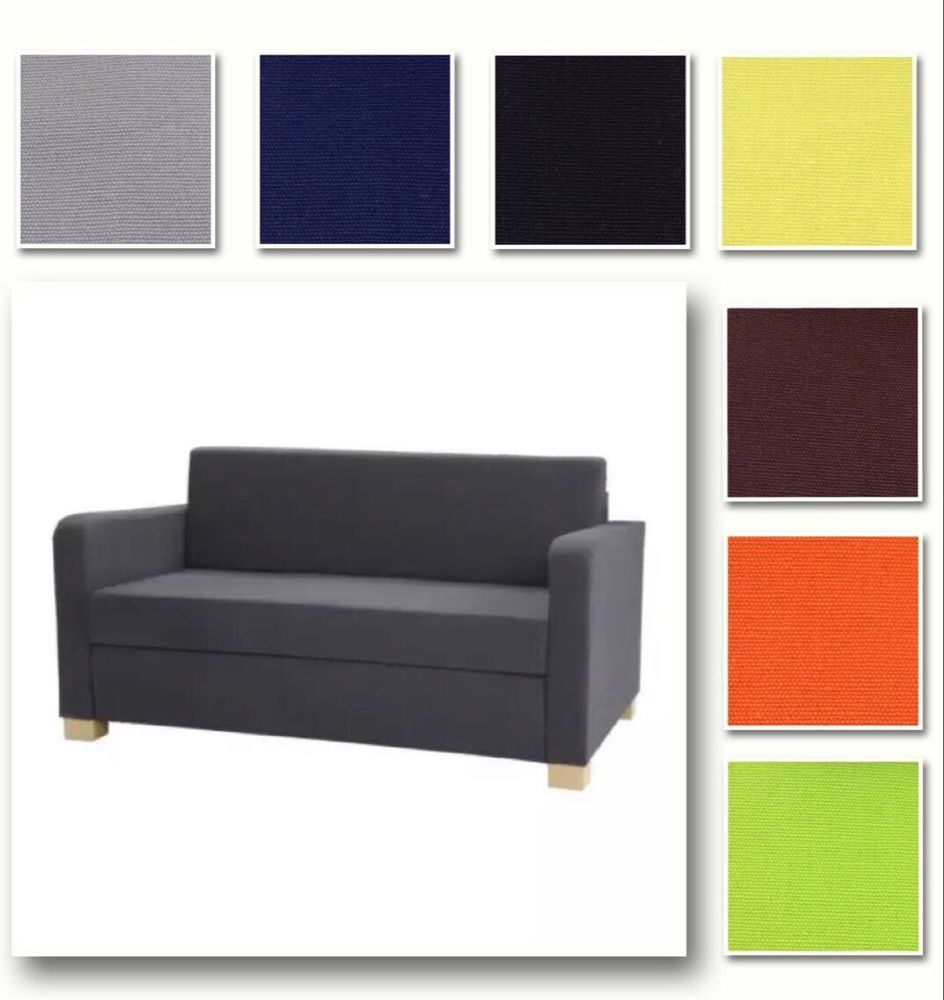 Replacement Cushions For Sleeper Sofa Sofas Camas Baratos Sevilla Customize Cover Slipcover Fits Solsta Bed Lots Choices In Home Garden Furniture Slipcovers Ebay