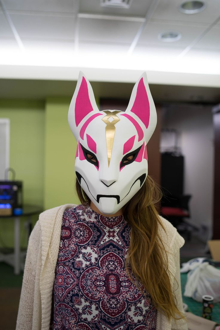 Gaming PinWire Drift Mask from Fortnite (Cosplay version