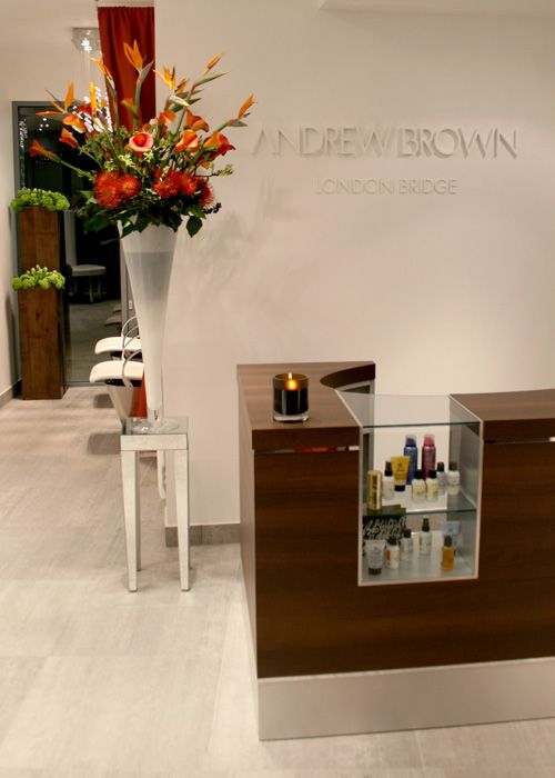 Andrew Brown Bermondsey Street London With Images Salon Interior Design Hair Salon Interior Salon Decor