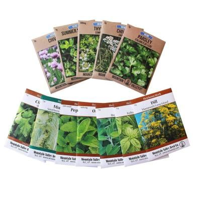 Mountain Valley Seed Company Grow Cooking Herbs Parsley Thyme