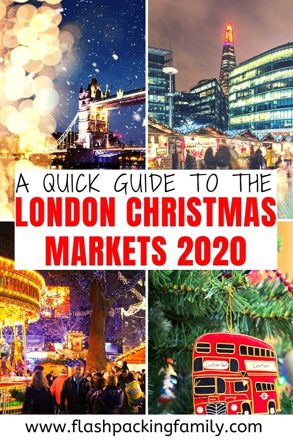Christmas Markets London 2021 Dates