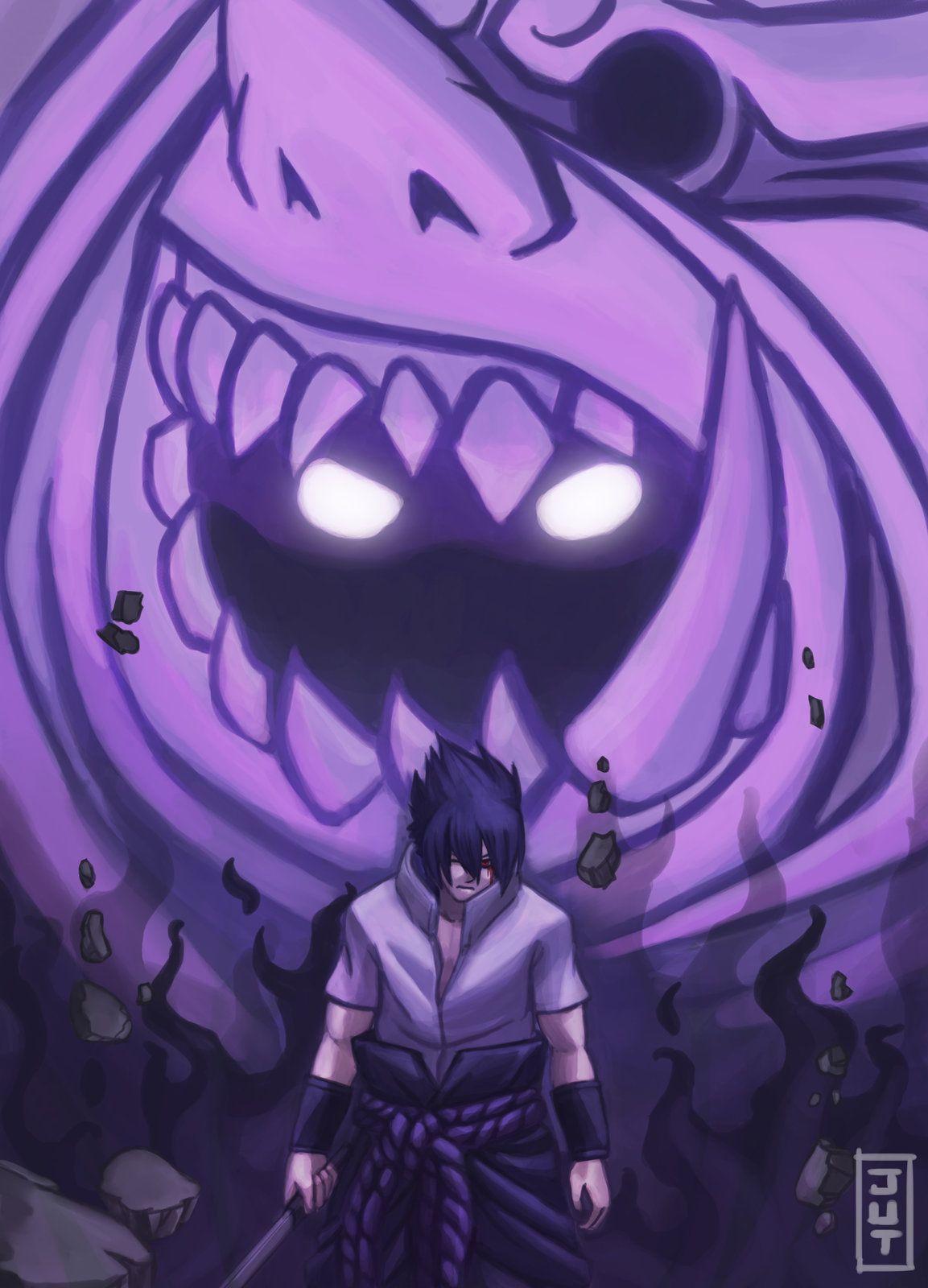 Sasuke and his susano | Naruto shippuden anime, Anime ...