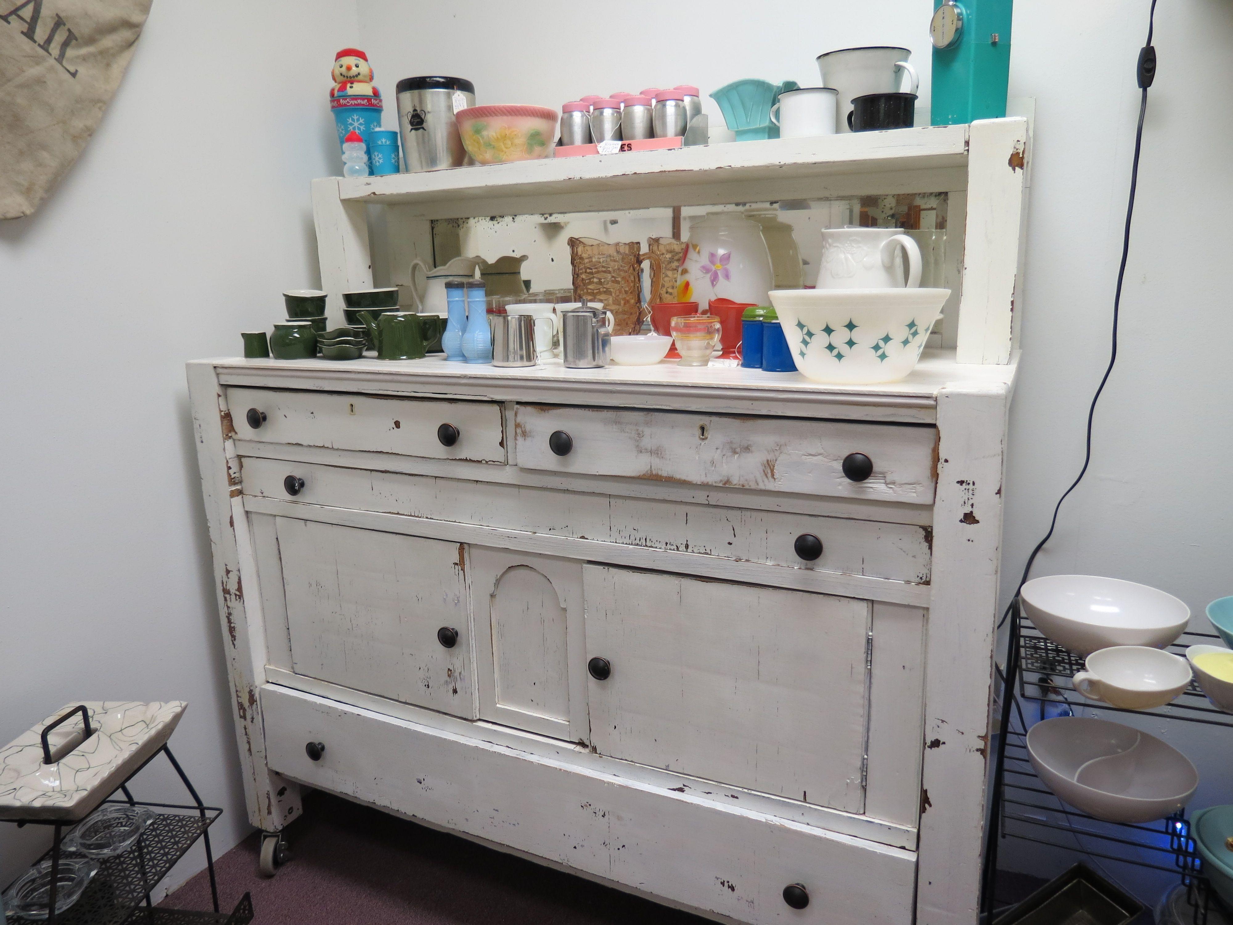 Antique farmhouse table antique farmhouse sideboard wow  no  pickery place  pinterest