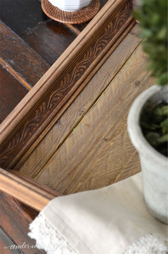 How to Create a Reclaimed Wood Tray from a Picture Frame | Trays ...