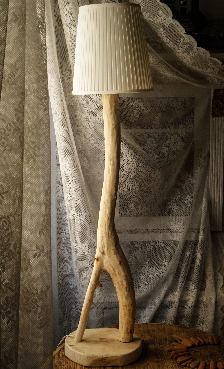 Black Friday Cyber Monday Eucalyptus Tree Lamp Rustic