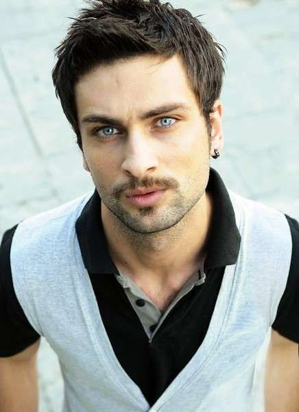 Yakışıklı Erkek Fotoğrafları Renkli Dünya Male Face Face Ve