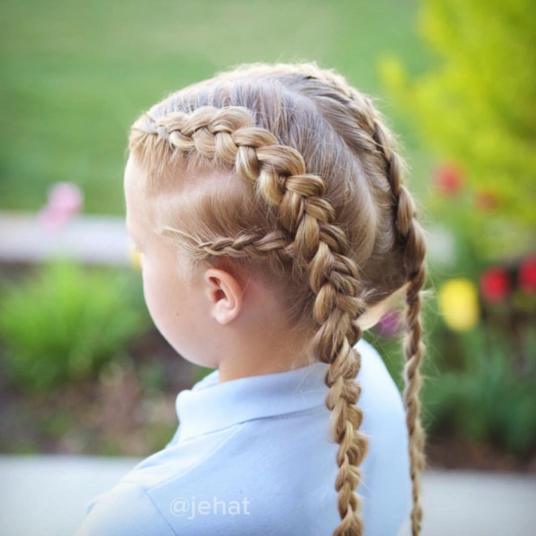 jehat hair — dutch braided pigtails kardashian inspired