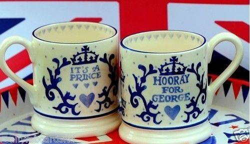 Royal Baby Hooray For George 0 5 Pint Mug Everything