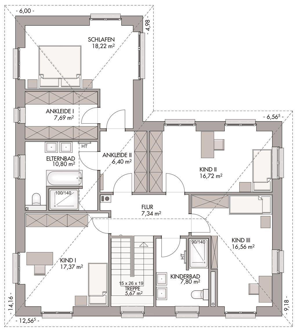 Winkelstadtvilla als mehrgenerationenhaus eco system for Zweifamilienhaus stadtvilla