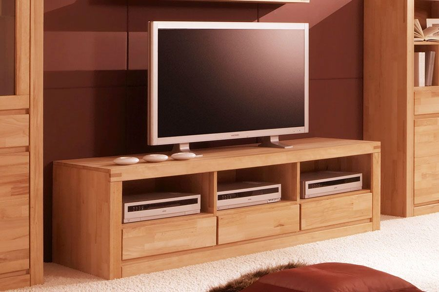 Tolle tv möbel buche massiv Deutsche Deko Pinterest - wohnzimmer kernbuche massiv