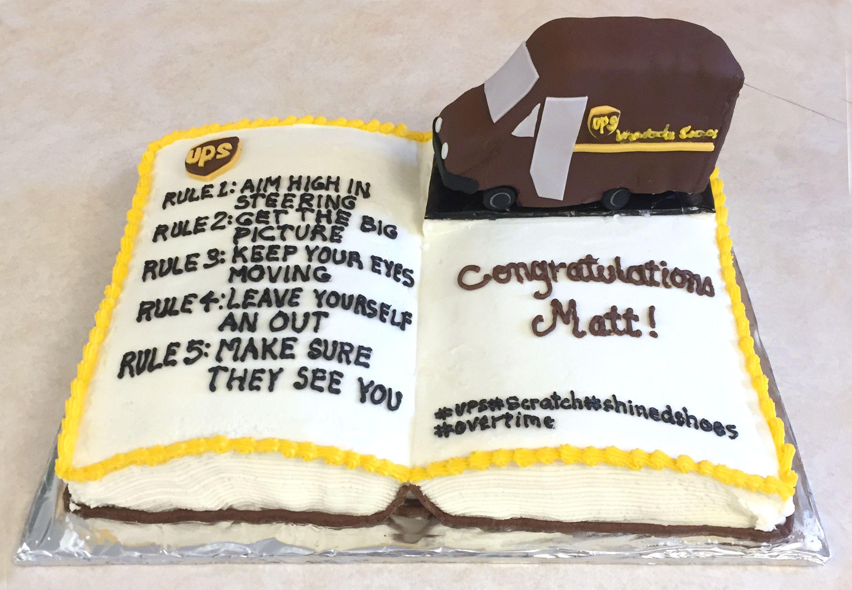 New Job At Ups Cake Cake New Job Ups