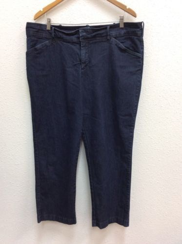 7.42$  Watch now - http://vitom.justgood.pw/vig/item.php?t=7djg4vd11702 - Lee Natural Fit Jeans Sz 22W Petite Just Below The Waist 7.42$