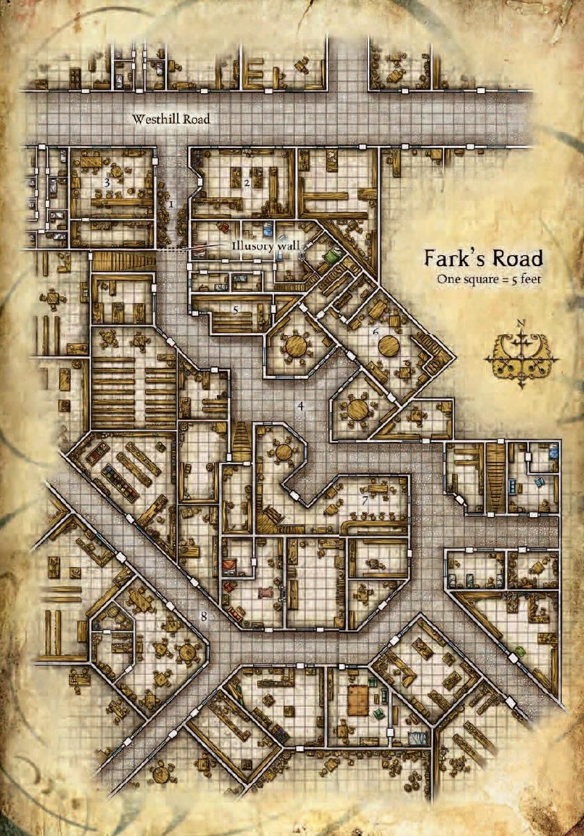 Fark's Road An Interesting Map For A City Alley, Useful