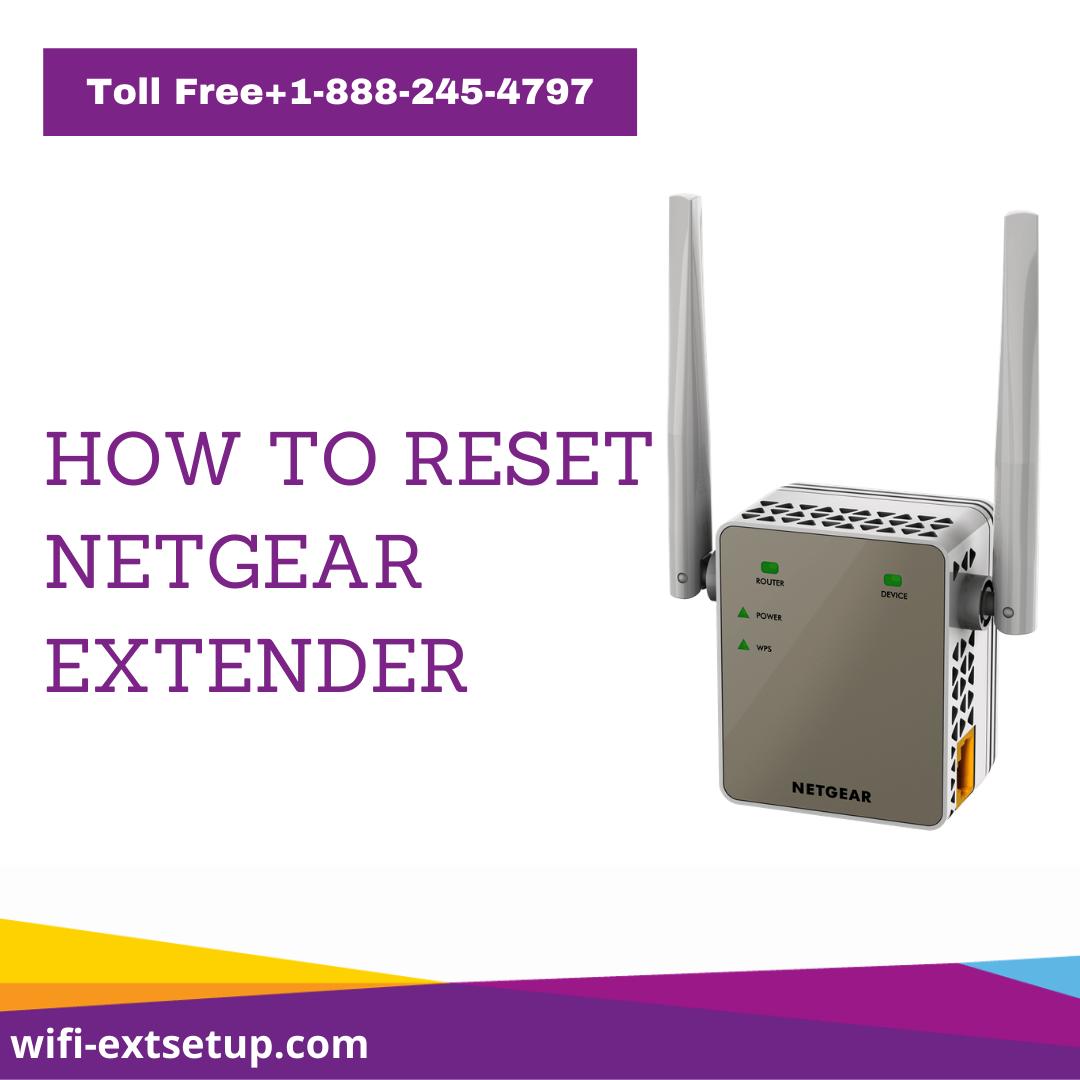 How To Reset Your Netgear Extender Netgear Wifi Extender Wifi
