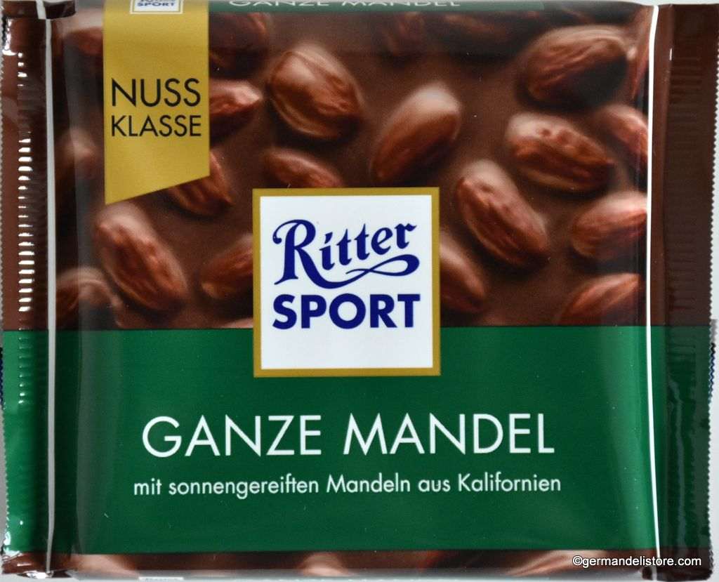 Ritter Sport Whole Almonds Ganze Mandel 100g (mit