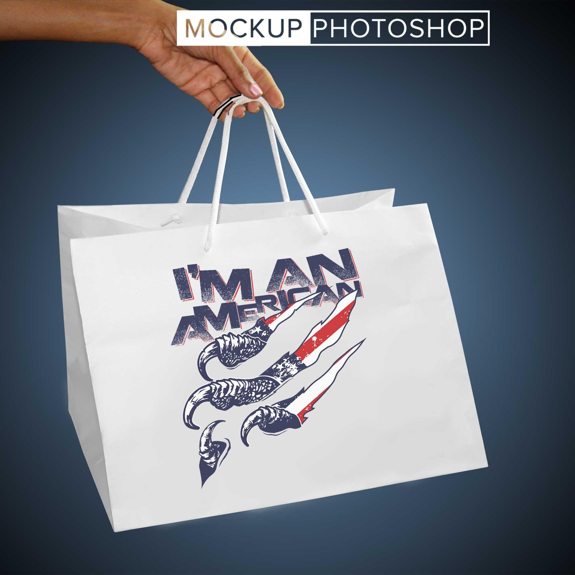 Download Printed Shopping Bag Mockups Bag Mockup Logo Design Mockup Mockup Free Psd