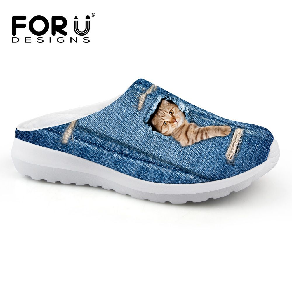 Lightning Galaxy Cat Breathable Fashion Sneakers Running Shoes Slip-On Loafers Classic Shoes