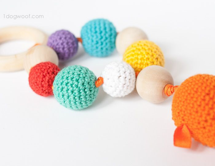 Bubbles and Goldfish Teether Crochet Pattern | Amigurumis | Pinterest