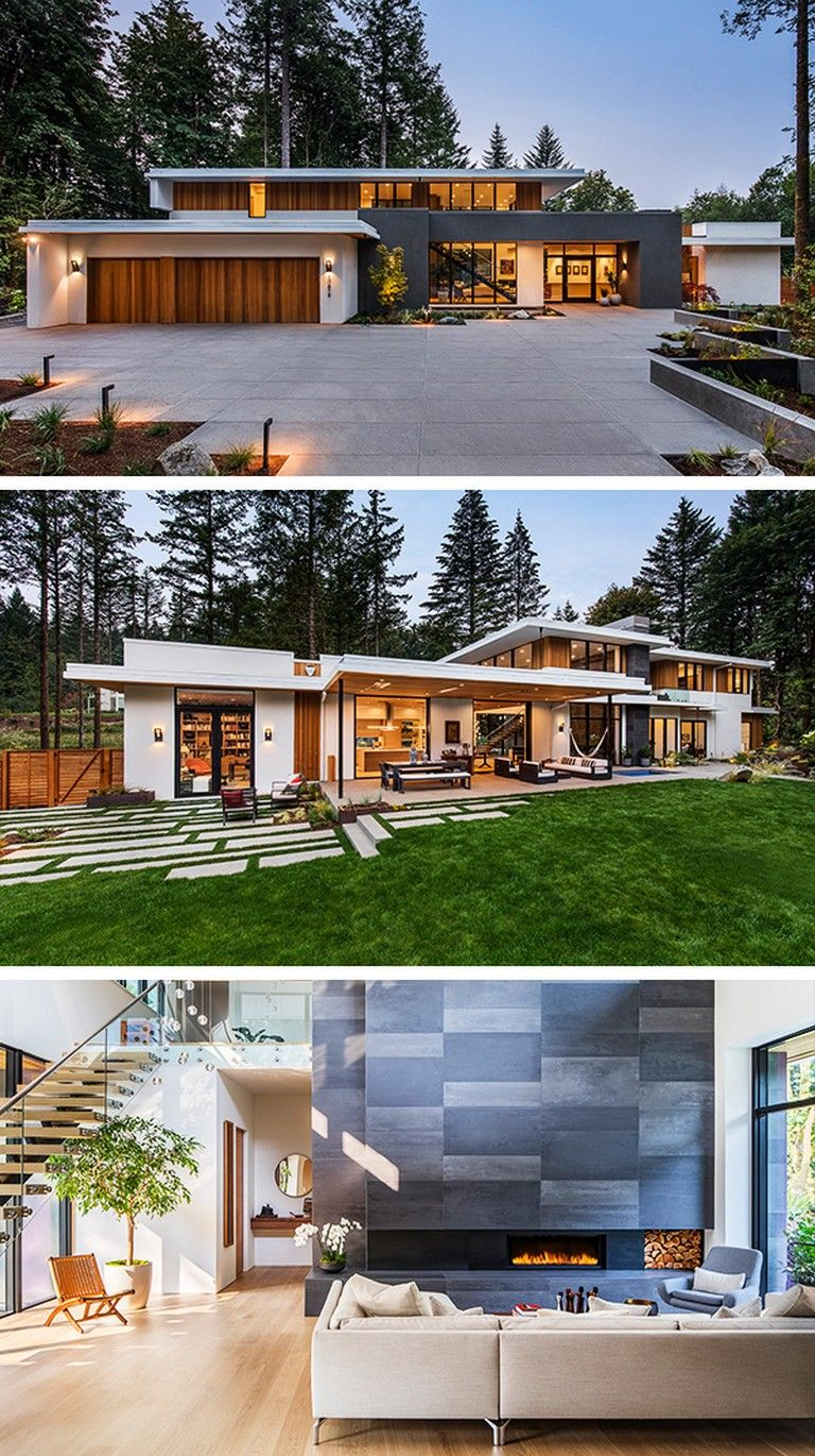 20 Unbelievably Beautiful Contemporary Home Exterior Designs: 20 Incredible Wildwood Residence By Giulietti Schouten Architects In Portland, Oregon