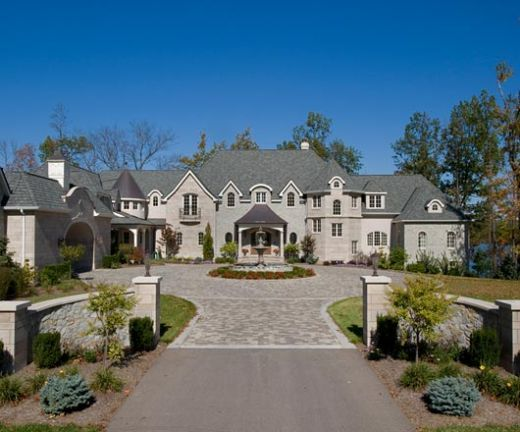 Modern french chateau style architecture a queen needs for French chateau style homes for sale