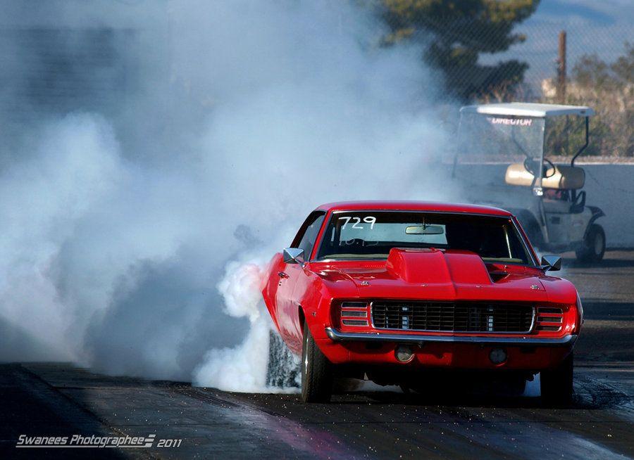 Smokin Red Camaro by *Swanee3