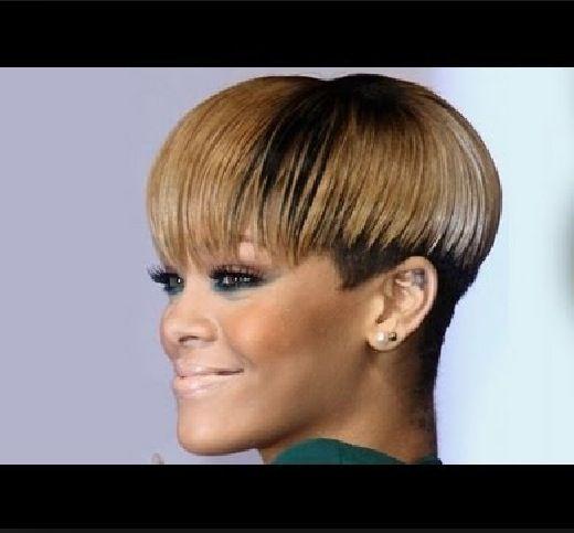 Pin By Dequetta Gaston On Pixies Weaves Natrual Hair Hair Styles Short Hair Styles Mushroom Haircut