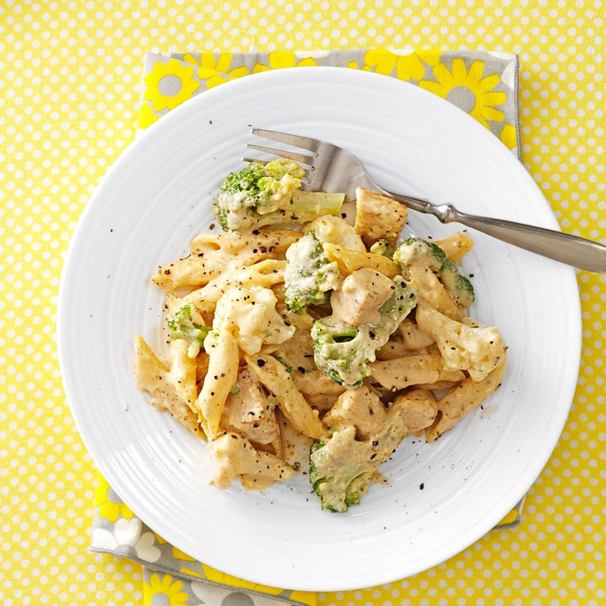 Barbecue Pork And Penne Skillet Recipe: Chicken Alfredo Recipes With Penne Pasta
