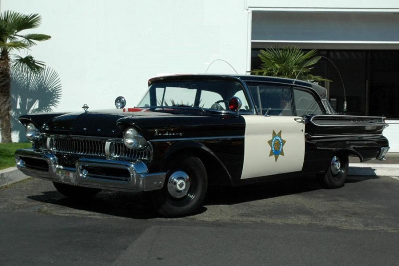 1957 Mercury Police Cars Old Police Cars Ford Police