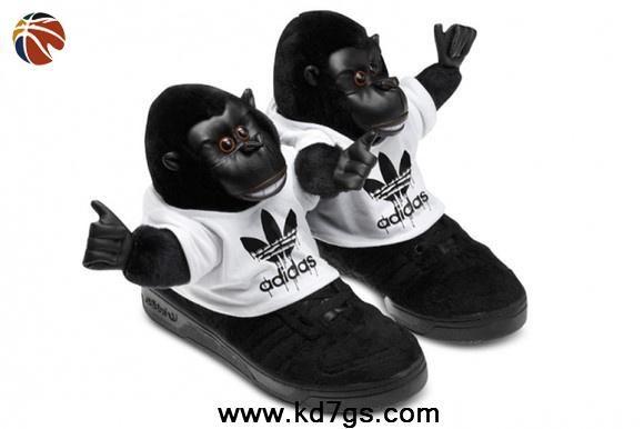 2014 Adidas x Jeremy Scott Gorilla zapatos estilo a Strut