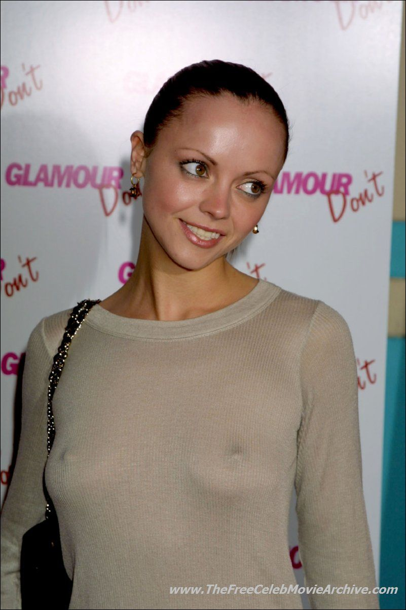 Christina Ricci naked Christina Ricci: Damn girl, you're so hot! I love that subtle hint of her  naked body under the clothes, her nipples; leaving more to the imagination  is ...