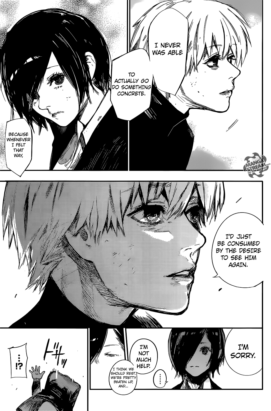 Tokyo Ghoul:re 124 - Touka + Kaneki is now officially canon