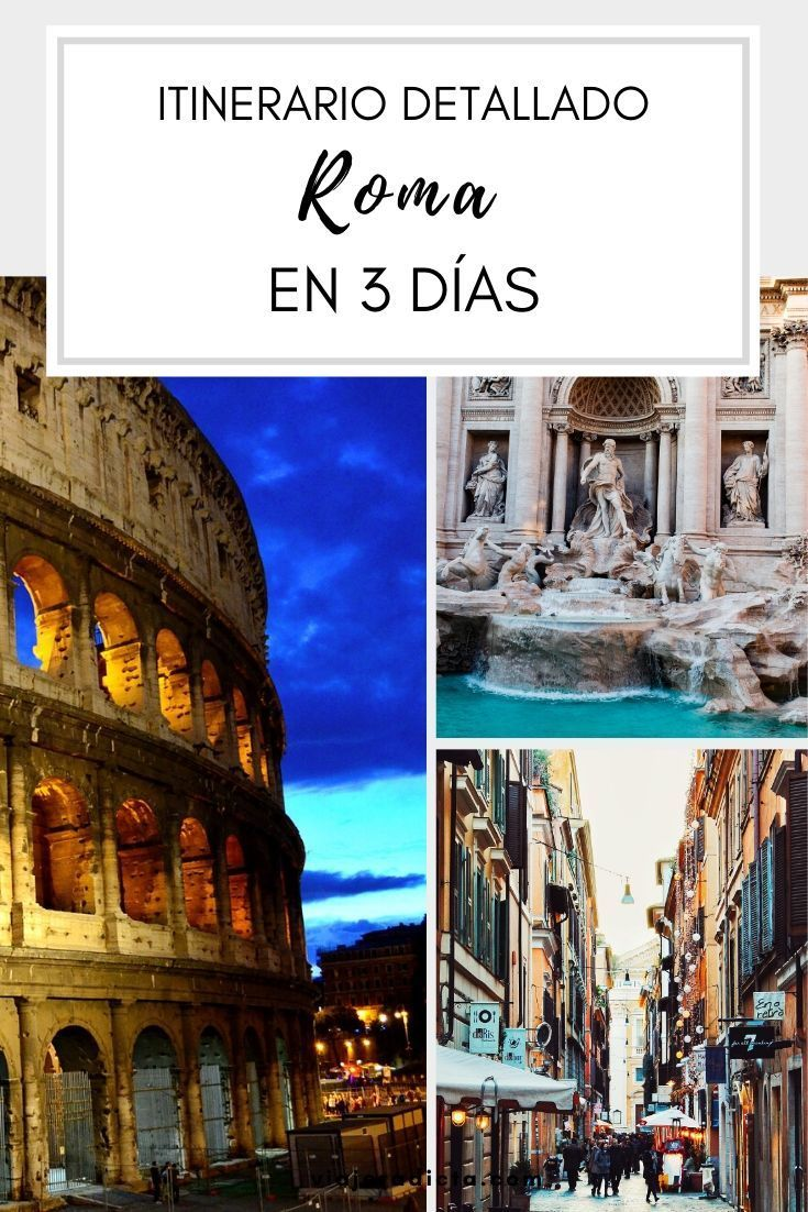 foto de Vas a estar 3 dias en Roma? No te pierdas este itinerario