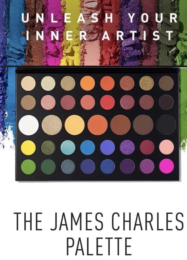 Morphe The James Charles EyeShadow PaletteAuthentic