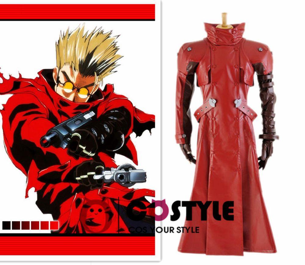 trigun vash the stampede cosplay costume custom-made halloween any