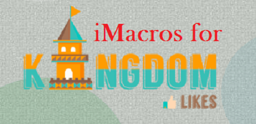 I will give you #Kingdomlikes #iMacro Automation Scripts to gather free points. Find out more details here: http://digesale.com/jobs/internet-marketing/i-will-give-you-kingdomlikes-imacro-automation-scripts-to-gather-free-points/