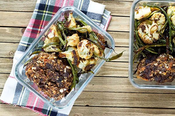 Country Heat Meal Prep 2100-2300 Meatloaf with Veggies