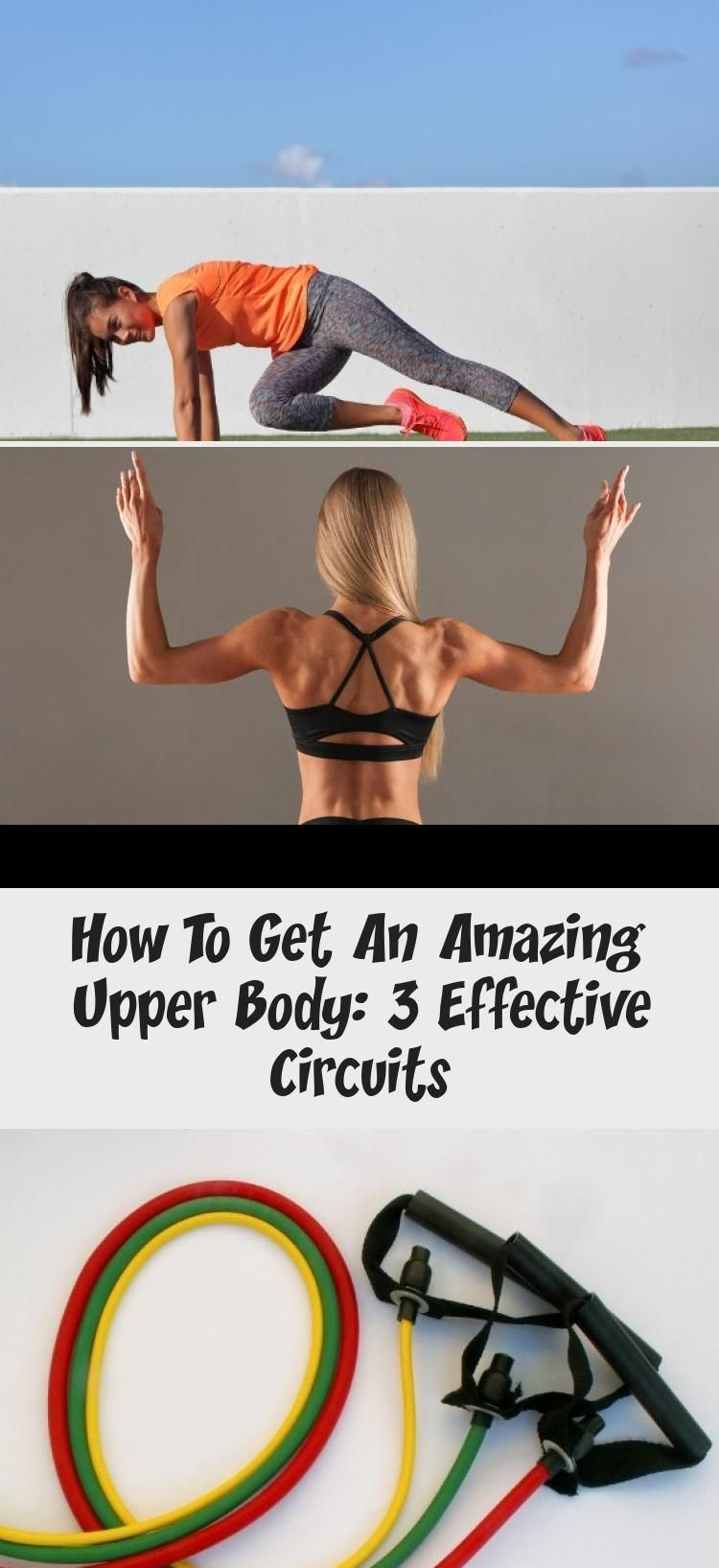 Learn three awesome circuits for a strong and shapely upper body. These workouts can be done at home...