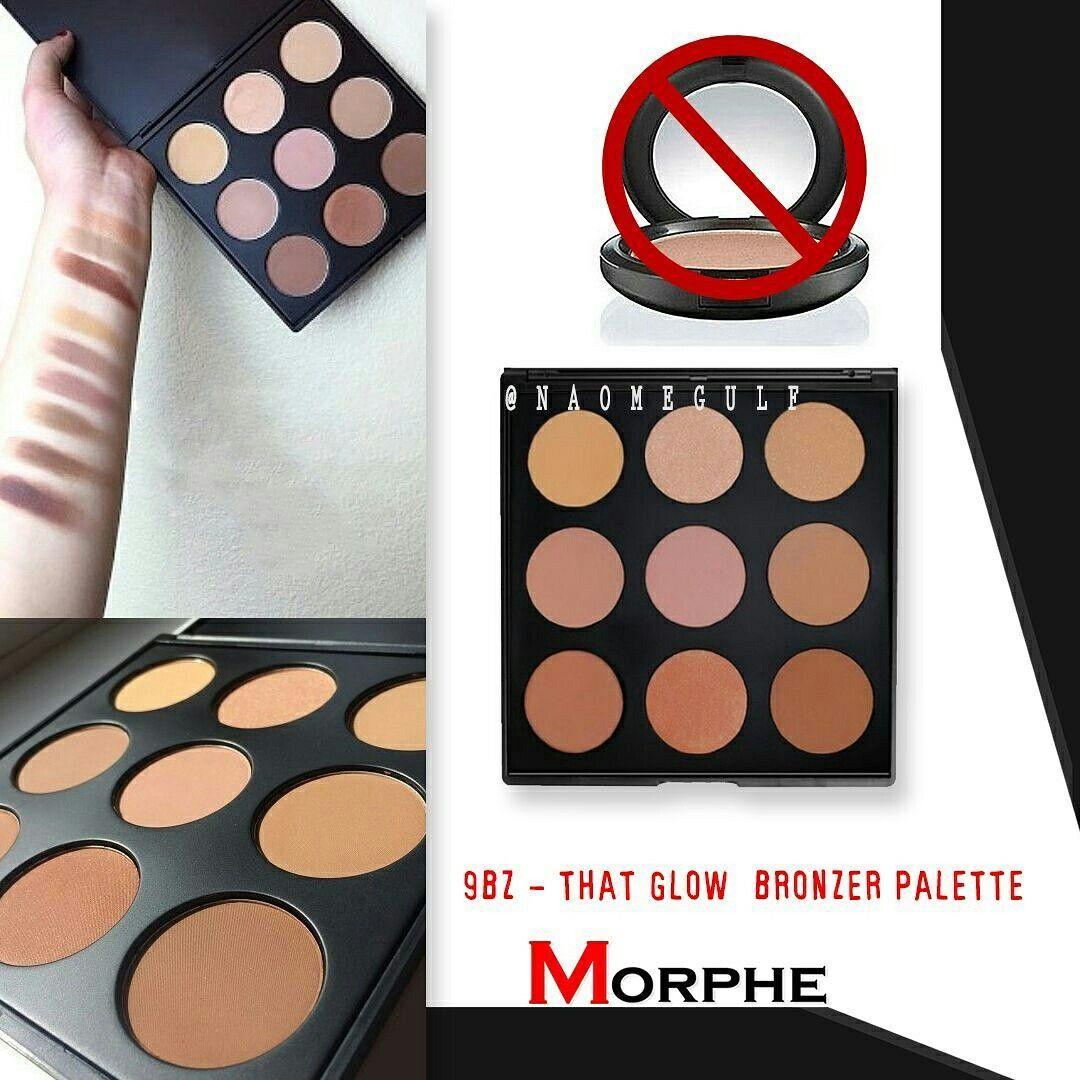 باليت بلاشر من مورفي ا 9bz That Glow Bronzer Palette تاخذ درجات البرونز ا 9n Naturally Blushed Palette التدرجات الطبيع Bronzer Palette Eyeshadow Bronzer