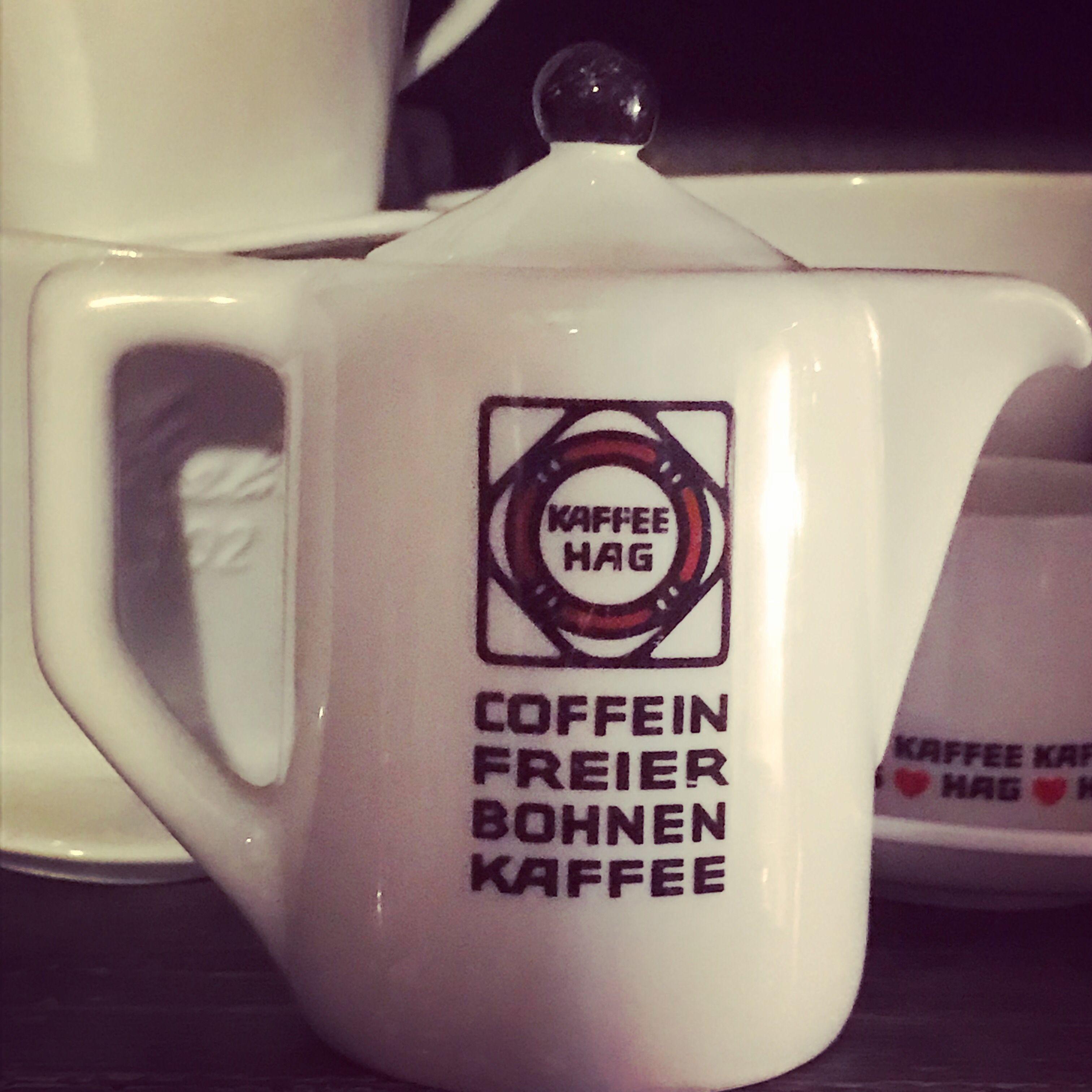 Vintage Kaffee Hag Kännchen Kaffee Hag Kaffee Vintage