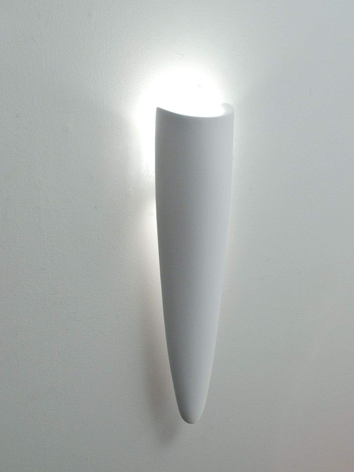 Plaster Wall Sconce For Halogen Lamps Gipsowa Lampa Pinterest