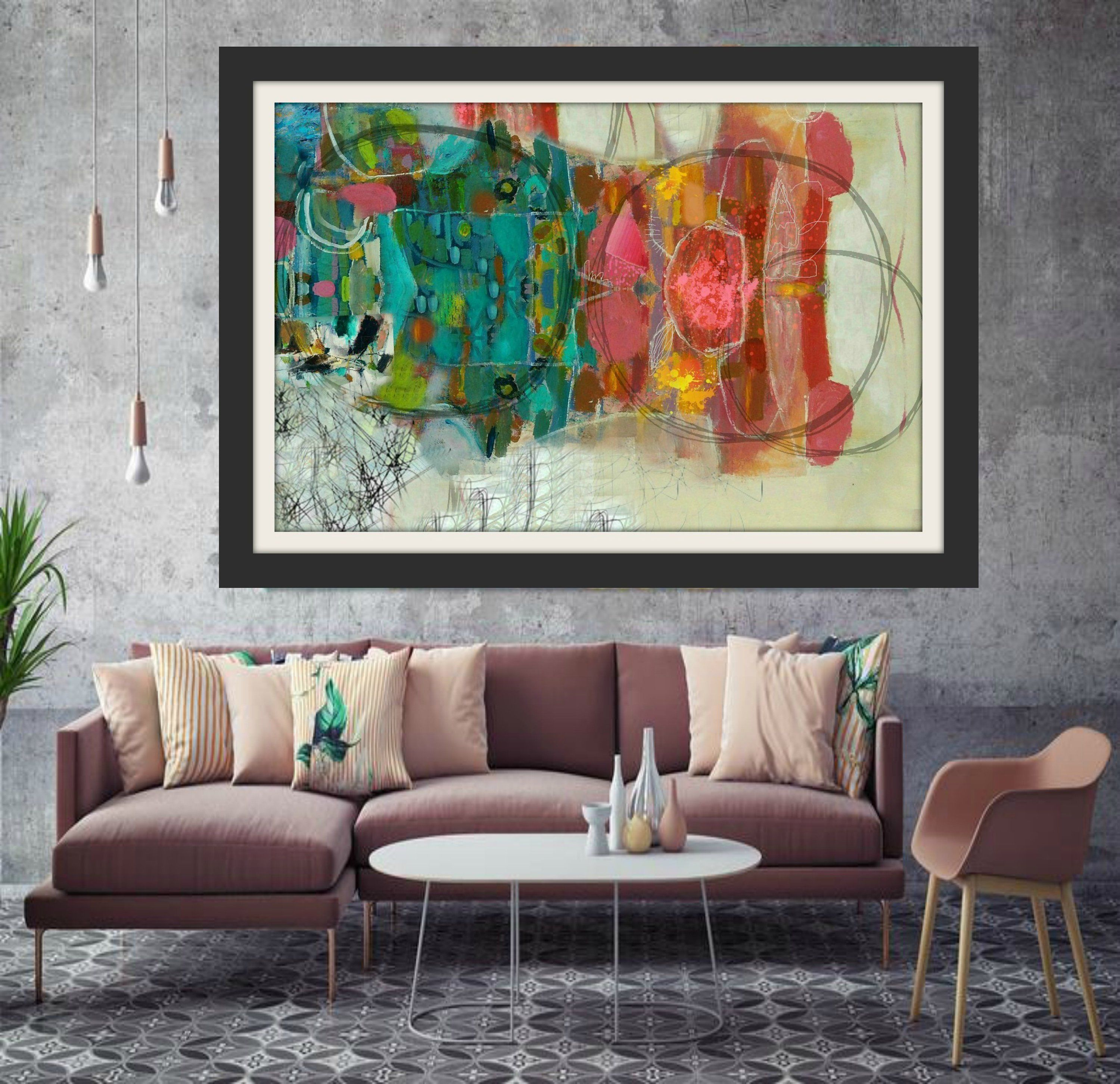 Abstract Print Modern Art Art Home Decor Statement Wall Art