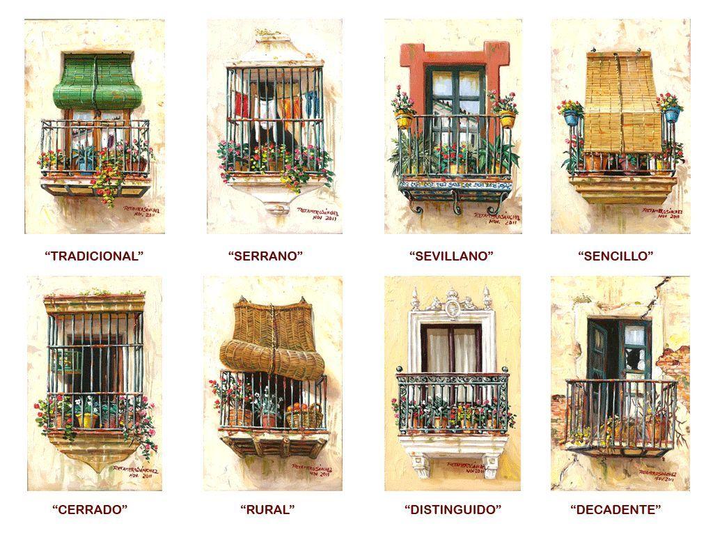 Balcones con personalidad Francisco Jose Retamero Sanchez ...